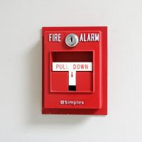 fire alarm in Houston hand pull station